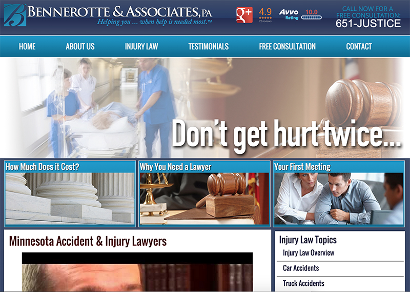 Bennerotte & Associates - St. Paul, MN Injury Lawyers